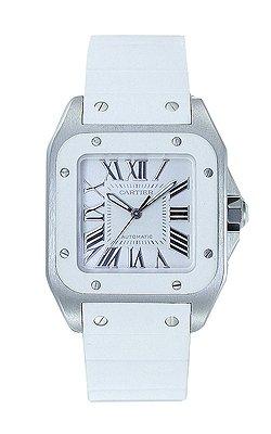 Unisex Cartier Santos Reloj w20122u2reloj de pulsera (reloj de pulsera)