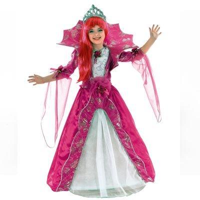 Clown Republic 05108/08 - Disfraz de Reina del Carnaval, para niña, multicolor