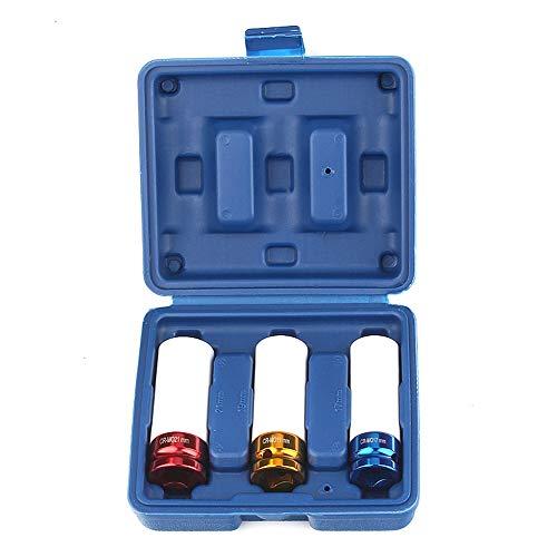 Breaker Lug Kit (LXB Radmuttern-Steckschlüsselsatz, professionelle Qualität, hergestellt aus hochwertigem Chromoly-Stahl, 3-teilige dünnwandige Steckschlüsselsätze, langlebiger Radmuttern-Entferner von.)
