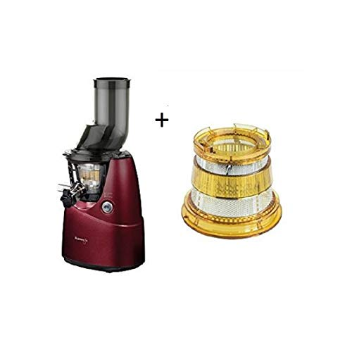 Kuvings Slow juicer red B6000 with Optional KVG Sp021 Filter for Dessert and ice Cream