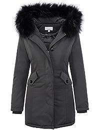 Suchergebnis auf für: Damen Mantel Grau Rock