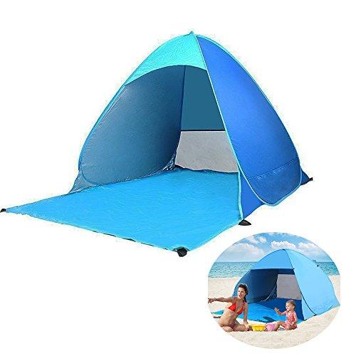 Pop Up-Tenda da esterni, portatile, per campeggio/spiaggia/giardino, veloce, Cabana sole protezione UPF 50