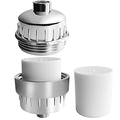 Universal Shower Filter,Peyou 10-Stage Water Purifier with 2 Replaceable Filter