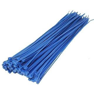 All Trade Direct Kabelbinder, 300 x 4,8 mm, 50 Stück blau