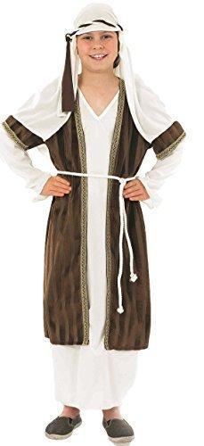 Per bambini da 4 pezzi, colore: Marrone-Pastore Henbrandt-Costume da androide, 4-12 anni