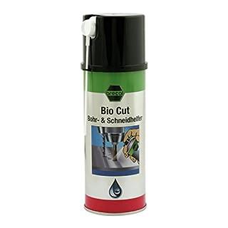 Bohr- und Schneidhelfer - arecal BIOCUT - 400 ml - ist ein Schmierstoff auf pflanzlicher Basis; geeignet für das Gewindeschneiden, Bohren, Drehen, Fräsen, Sägen.