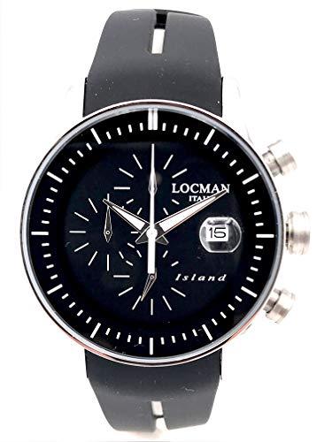 LOCMAN Island REF620 40MM 325 Euro Stahl/Gummi