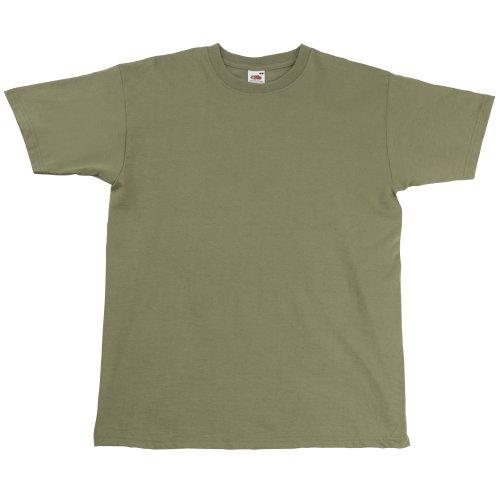 Fruit Of The Loom Herren Super Premium Kurzarm T-Shirt Navy