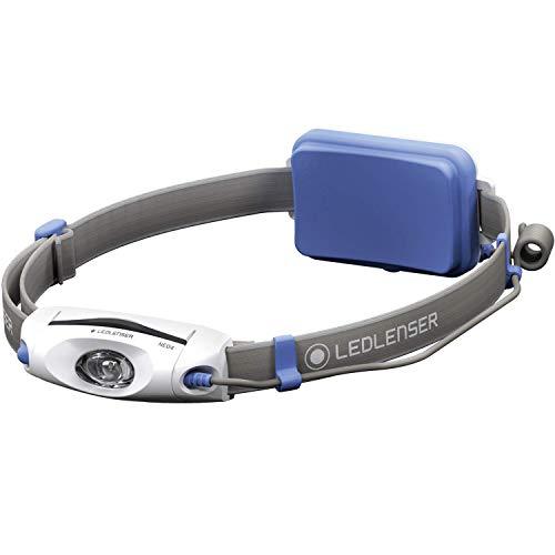 LED Lenser Stirnlampe nEO4 blau - lampe torche avec sangle pour tête, bleu)