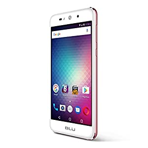 BLU Grand X - SIM-Free Smartphone- 8GB + 1GB RAM -Rose Gold
