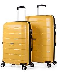 JASLEN - 67500 SET TROLLEYS POLIPROPILENO 60/70CM CON TSA LOCK