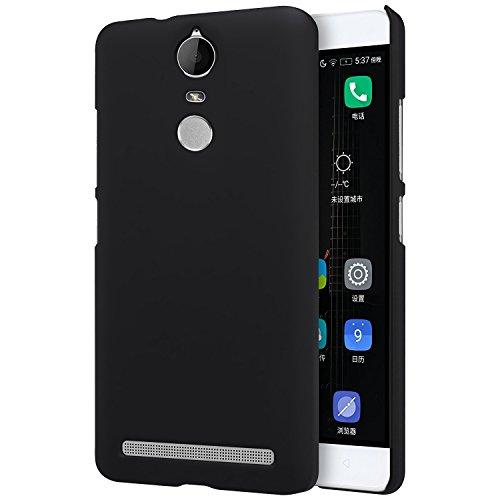 MTT Slim Fit Premium PC Hard Back Case Cover for Lenovo Vibe K5 Note (PC Black)