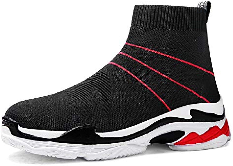 Liuxc Scarpe da donna Le scarpe da ginnastica da Uomo Intrecciate con i Calzini Alti di Alta Tendenza Sono vestite in Stile... | Attraente e durevole  | Uomini/Donne Scarpa