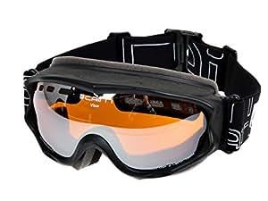 Cairn - Visor otg noir masque c3 - Masque de ski - Noir - Taille Unique