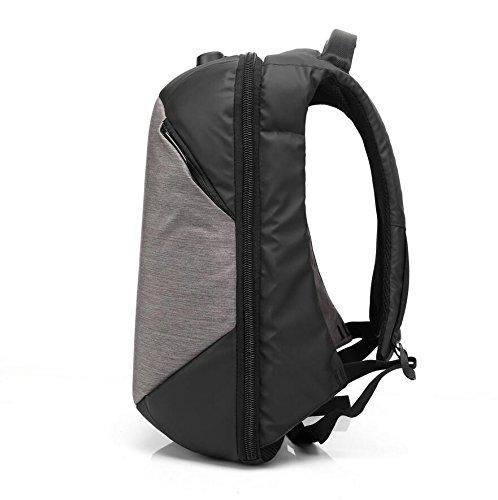 Z&N Wasserdicht Oxford Tuch Schulterbeutel kreative Passwort-Sperre Laptoprucksack lässig Diebstahl Rucksack im Freien Radfahren Laufen Wandern Bergsteigen und Tourismus C