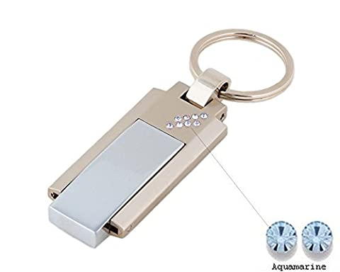 Faost Design 32GB DM328532-08DBL Swarovski Crystal Metal USB Drive,Memory Stick
