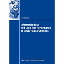 Information Risk and Long-Run Performance of Initial Public Offerings
