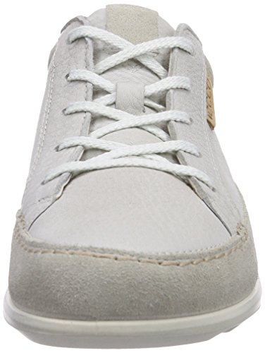 Ecco Cayla, Baskets mode femme Blanc (Gravel/White/Quarry)