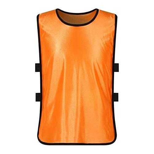 T-Shirts Volleyball Trikots Lätzchen Für Kinder Kinder Jungen Und Mädchen Atmungsaktiv Sport Mesh Scrimmage Trainingswesten Fußball Fußball Lässig Bequem (Farbe : C8, Größe : Kids) -