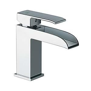 Miscelatore lavabo a cascata level paffoni les061 cr casa e cucina - Rubinetti bagno amazon ...