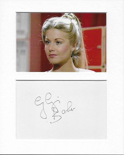 Blake de 7–Soolin–Glynis Barber authentique à la main signé autographe Aftal COA