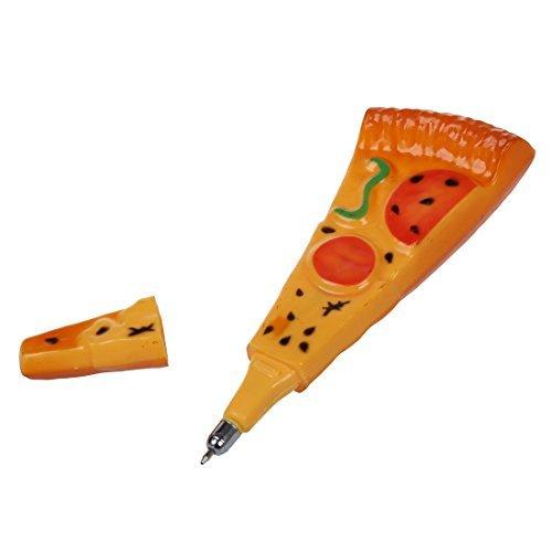 Bola engraçado Pizza Ball Pen-Point Pen com ímã