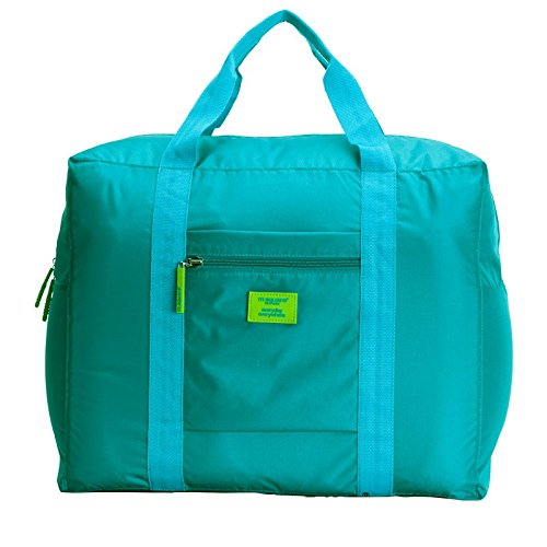 Packnbuy Green Fabric Foldable Luggage Bag