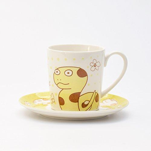 BBujsgH Le coppie cartoon incantevole tazze di ceramica di tazze da caffè zodiaco colazione latte di tazza di acqua Cup il nuovo anno lunare Cup - , Snake - Snake Porcellana