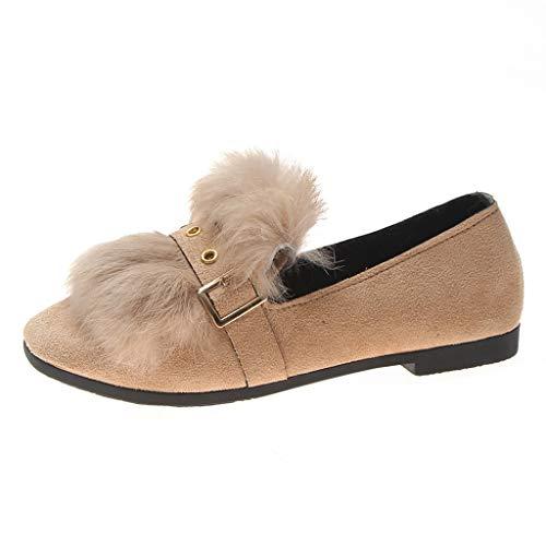 Jujiashoes Interior Casual all'Aperto scarpe donna invernale stivaletti bassi antiurto e leggera Scarpe imbottite donna scarpe basse donna eleganti antiscivolo Scarpe donna comode eleganti