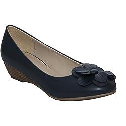 Annabelle Madison, Damen Pumps, Blau - Dunkelblau - Größe: 37.5