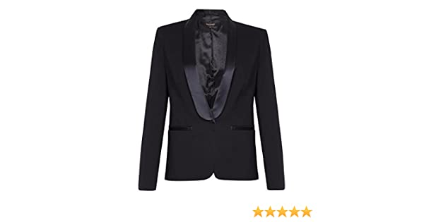 53e419d026e61 Ex Next-Black Womens Tuxedo Jacket Size 20  Amazon.co.uk  Clothing