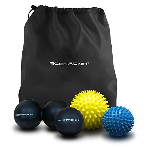 Juego de pelotas de masaje ECOTRONIK - Juego de 2 pelotas con pinchos 0dacdd830c7f