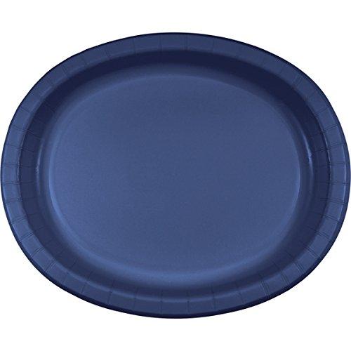 433278 Oval Platter, Papier, elfenbeinfarben ()