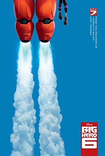 Big Hero 6 Movie Poster 70 X 45 cm