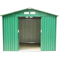 Dirty Pro Tools METAL GARDEN SHED 8 X 6 with base