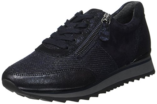 Gabor Shoes Gabor Casual, Derbys Femme Bleu (Ocean Kombi)