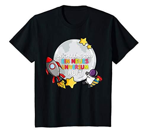 019 T-Shirt Junge Astronaut Weltall Weltraum T-Shirt ()