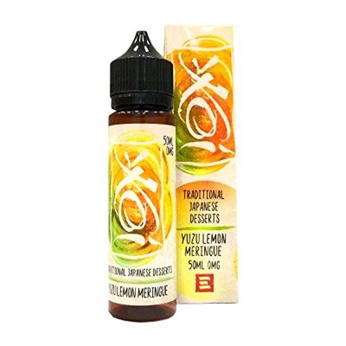 Yuzu Lemon Meringue (50ml) Plus e Liquid by KOI Element Nikotinfrei