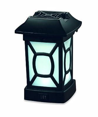 Thermacell Außenlampe zur Abwehr gegen Fluginsekten, schwarz