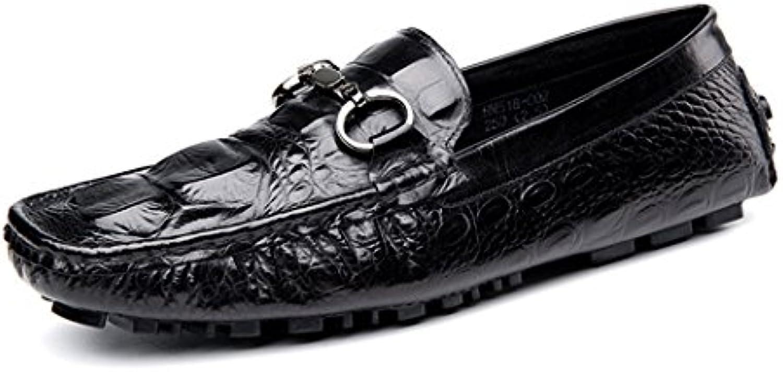 DANDANJIE Beiläufige Jugend der Männer  die Sommer Krokodil Muster Mode Schuhe der Schuh 2018 antreibt