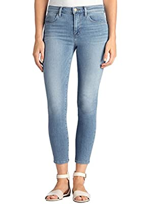 J Brand - Alana Crop Skinny Jeans - Ocean Side