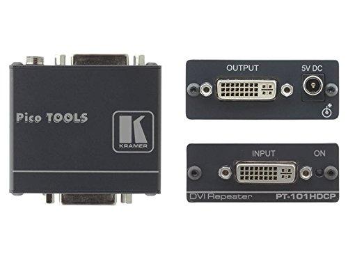 Unbekannt Kramer PT-101HDCP DVI-Repeater HDCP Konform (9969100211) Hdcp-repeater