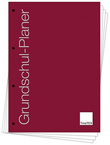 TimeTEX Grundschul-Planer - Loseblatt-Einlage A4-Plus - Schuljahr 2018 - 2019 - Lehrerkalender - Unterrichtsplaner - Schulplaner - 10719