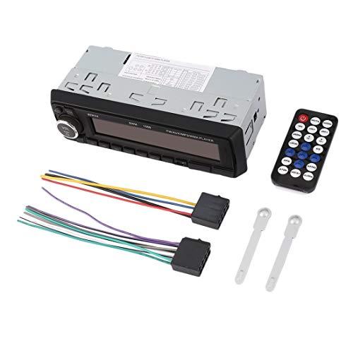SU-1088 Großbild-Display Auto MP3 USB FM Secure Digital Speicherkartenspieler CD-Player Unterstützung Bluetooth - Silber & Schwarz