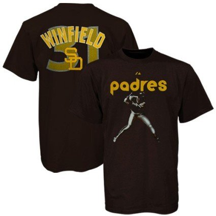 Dave Winfield MLB San Diego Padres MVP T-Shirt