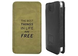 """Design Smartphone Tasche / Pouch für Apple iPhone 4s - """"best things sand"""""""