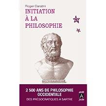 Initiation à la philosophie (essai, témoignage t. 9)