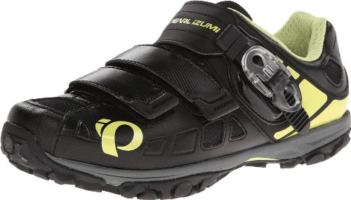 Pearl Izumi - Ride Women's W X-ALP Enduro IV Cycling Shoe,Black/Paloma,42 EU/10.0 D US