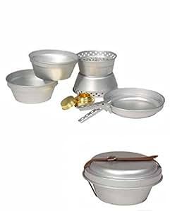 Set complet cuisine aluminium 7 pièces