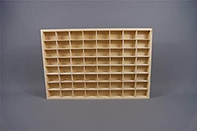 (PD14XL) Display Shelves Plain Wooden Display Unit Trinket Shelf Toy Storage produced by Decocraft - quick delivery from UK.